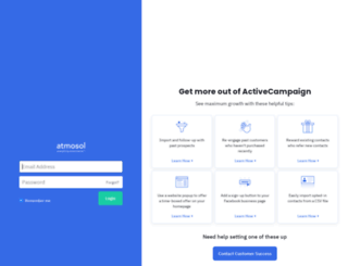 marketing.atmosol.com screenshot