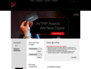 marketing.avfuel.com screenshot