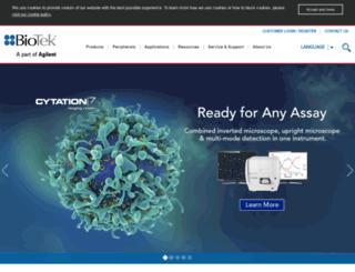 marketing.biotek.com screenshot