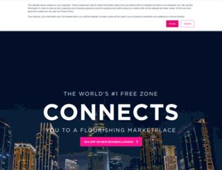 marketing.dmcc.ae screenshot