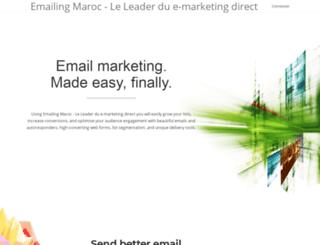 marketing.fr.ma screenshot
