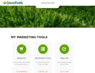 marketing.greenfields.eu screenshot