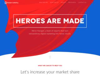 marketing.hanapinmarketing.com screenshot