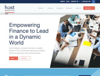 marketing.hostanalytics.com screenshot