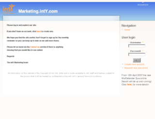 marketing.inty.com screenshot