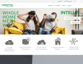 marketing.smartrg.com screenshot
