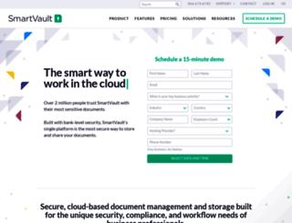 marketing.smartvault.com screenshot
