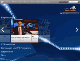 marketing.zdf.de screenshot