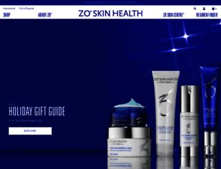 marketing.zoskinhealth.com screenshot