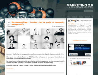 marketing20.fr screenshot