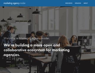 marketingagencyinsider.com screenshot
