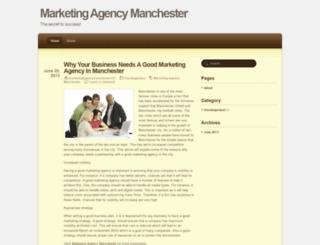 marketingagencymanchester101.wordpress.com screenshot