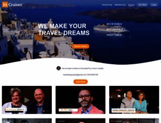 marketingaudaz.incruises.com screenshot