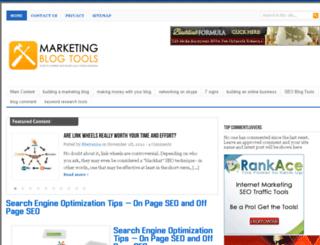 marketingblogtools.com screenshot