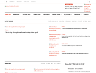 marketingchienluoc.com screenshot