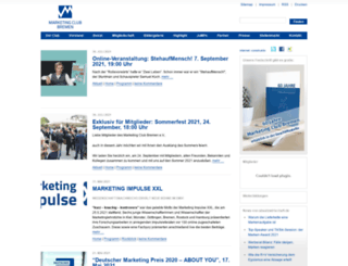 marketingclub-bremen.de screenshot