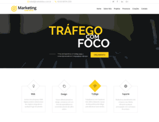 marketingcomfoco.com.br screenshot