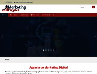 marketingdigital.pe screenshot