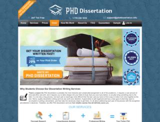 marketingdissertation.net screenshot