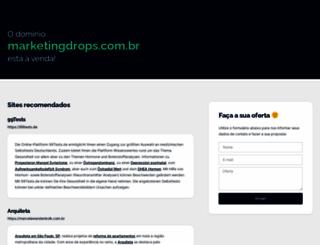 marketingdrops.com.br screenshot