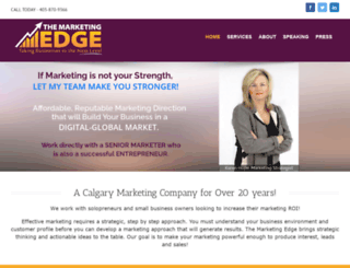 marketingedge.ab.ca screenshot