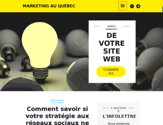 marketingenligne.ca screenshot
