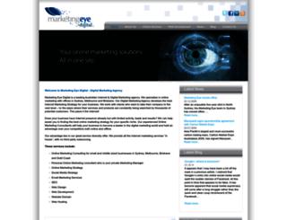 marketingeyedigital.com screenshot