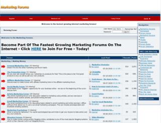 marketingforums.net screenshot