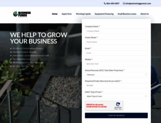 marketinggenesis.com screenshot
