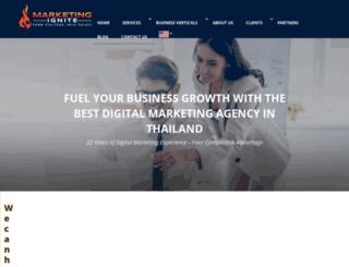 marketingignite.com screenshot