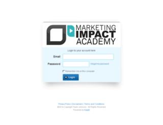 marketingimpact.kajabi.com screenshot