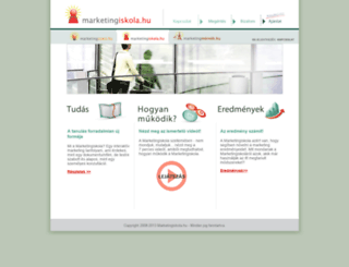 marketingiskola.hu screenshot