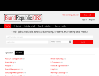 marketingmagazinejobs.com screenshot