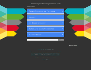 marketingmakeovergenerator.com screenshot