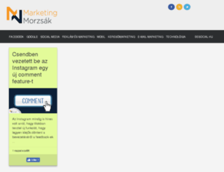 marketingmorzsak.com screenshot