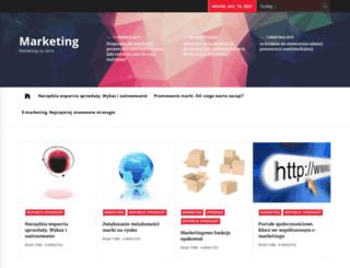 marketingnaserio.pl screenshot