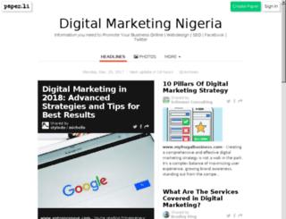 marketingnigeria.net screenshot