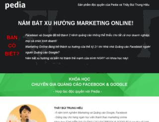 marketingonline2.pedia.vn screenshot