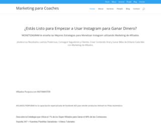 marketingparacoaches.es screenshot