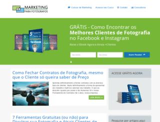 marketingparafotografos.com.br screenshot