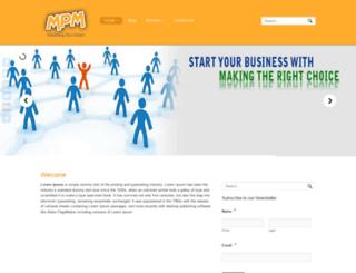 marketingplanmaker.com screenshot