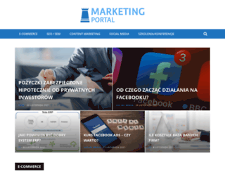 marketingportal.pl screenshot