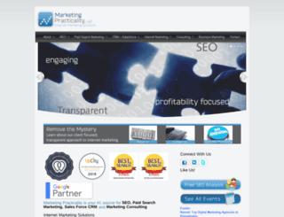 marketingpracticality.com screenshot