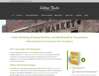 marketingprojekt.com screenshot
