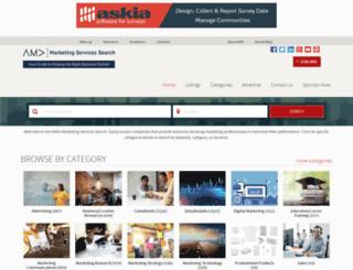 marketingresourcedirectory.marketingpower.com screenshot