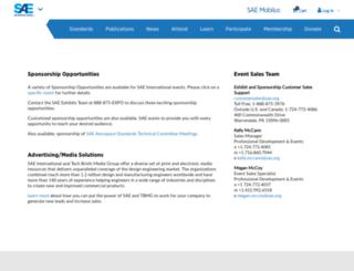 marketingsolutions.sae.org screenshot