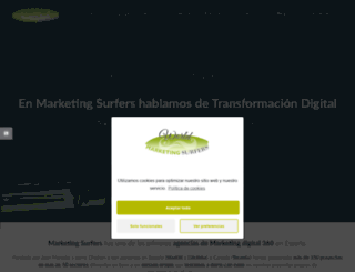 marketingsurfers.com screenshot