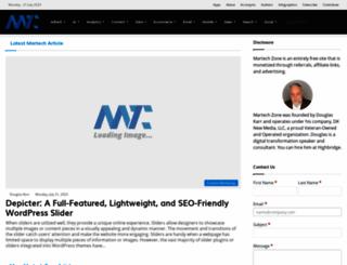 marketingtechblog.com screenshot