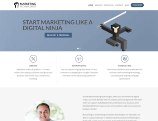 marketingtechnologist.com screenshot