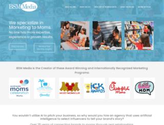 marketingtomoms.com screenshot